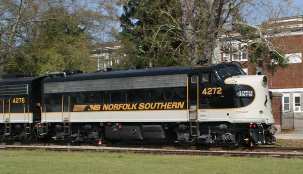 Norfolk Southern 4272, F9A by mabmb1987