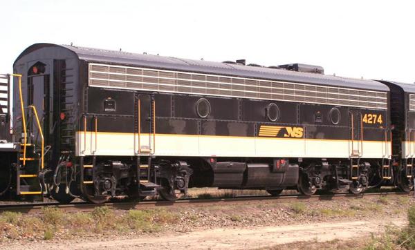 Norfolk Southern 4274, F7B by mabmb1987