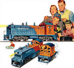 Lionel 6250 Seaboard NW2 Switcher