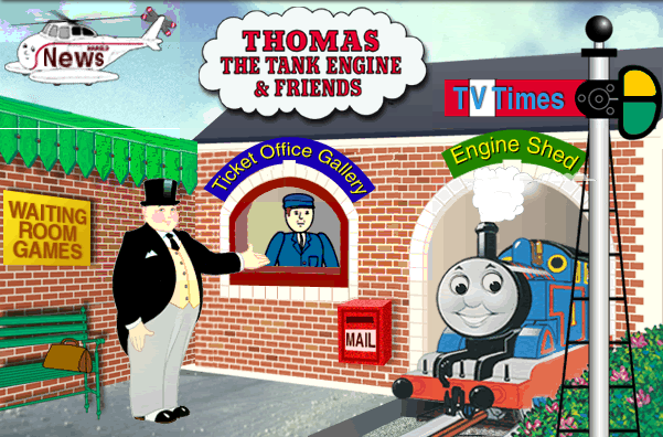 Thomas and Friends Website (1998-2000) by mabmb1987