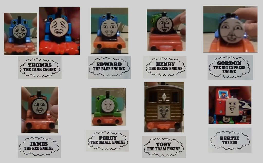ERTL Sticker Faces by mabmb1987