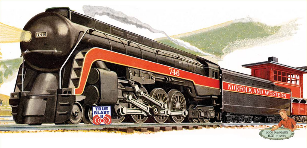 Lionel 746 Norfolk and Western J by mabmb1987