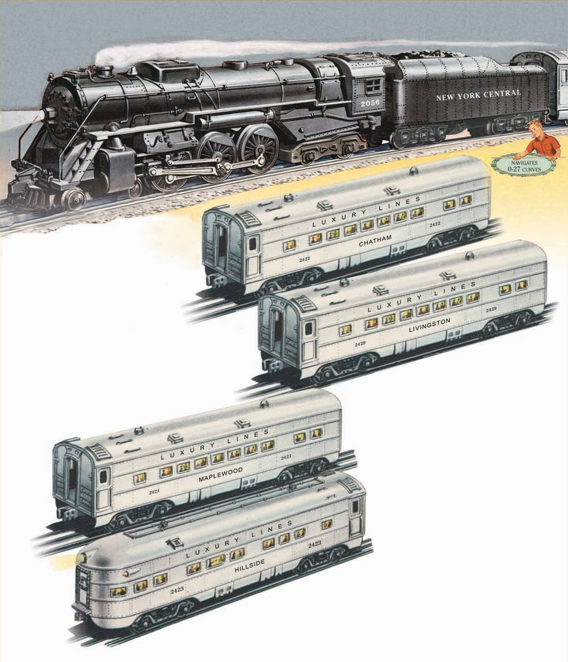 Lionel 2056 New York Central Mighty Hudson Set by mabmb1987
