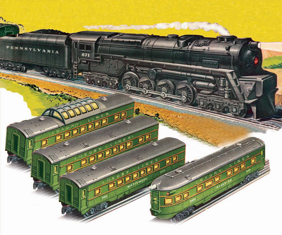 Lionel 671 Pennsylvania S-2 Turbine Set by mabmb1987