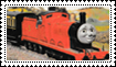 Stamp - James the Red Engine by mabmb1987