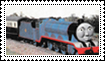Stamp - Gordon the Big Engine by mabmb1987