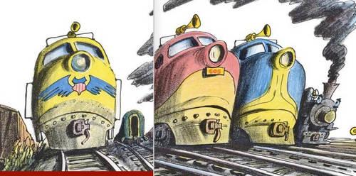 Diesel Locomotives - Smokey