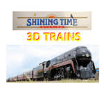 Shining Time Station 3D Trains - Rainbow Tiger