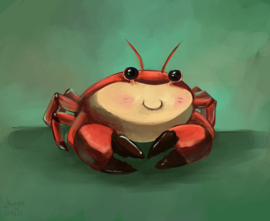 crab by mushyak-gone-wild