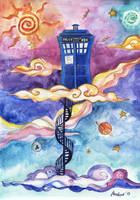 TARDIS by mushyak-gone-wild