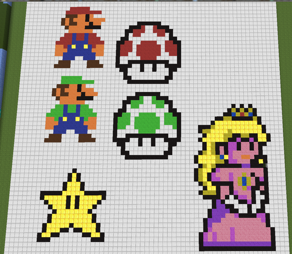 8 Bit Mario Characters by 8bitXminecraft on DeviantArt
