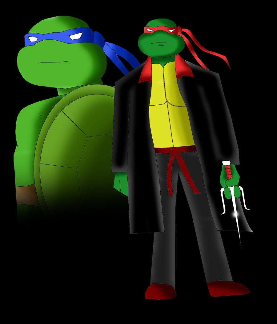 Leo and Raph by Sincity2100
