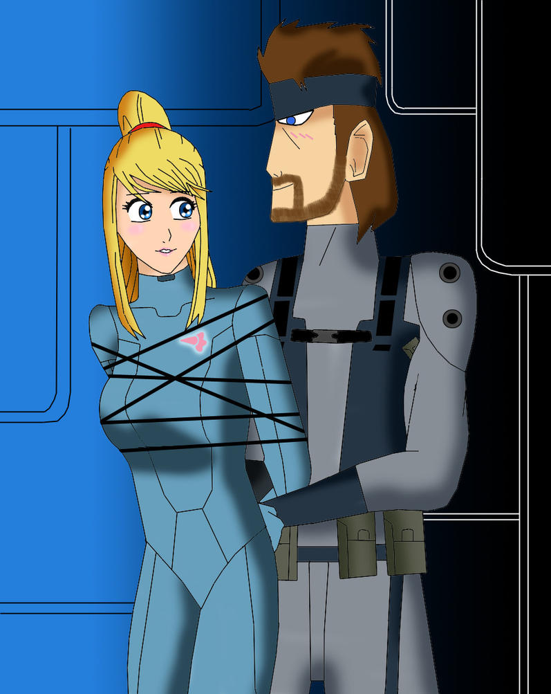 zero suit samus and link kiss - photo #26
