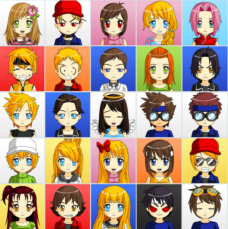 Anime Faces By Sincity2100 On DeviantArt
