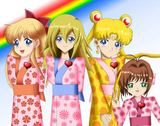 .: Magical Kimono :. by Sincity2100