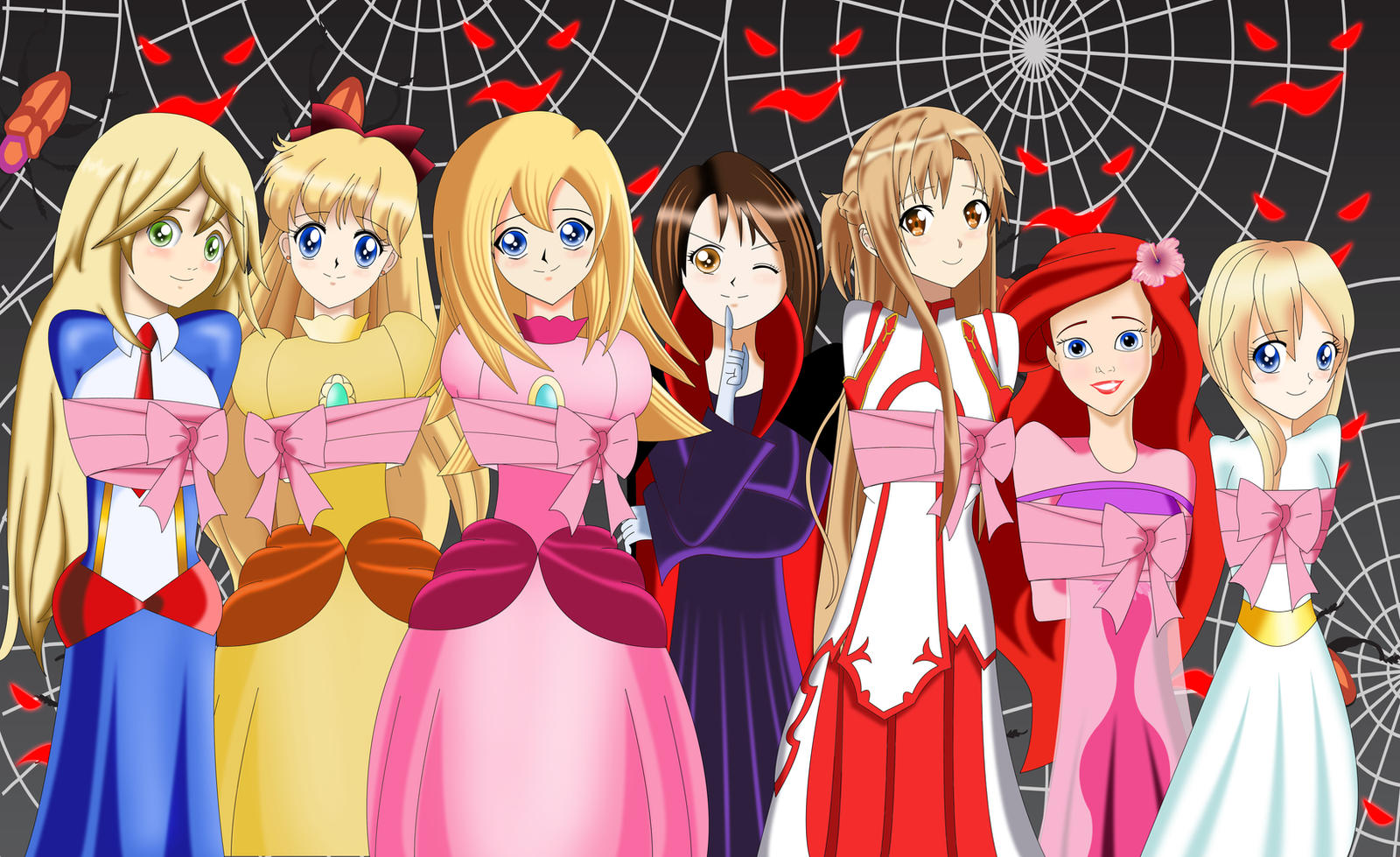 Fnaf Kidnapped Princess Deviantart: .: Be Quiet,I'm Kidnapping Princesses :. By Sincity2100 On