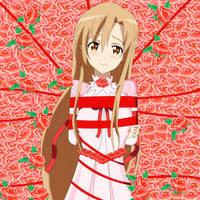 .: SAO : Captive Princess Asuna :. by Sincity2100