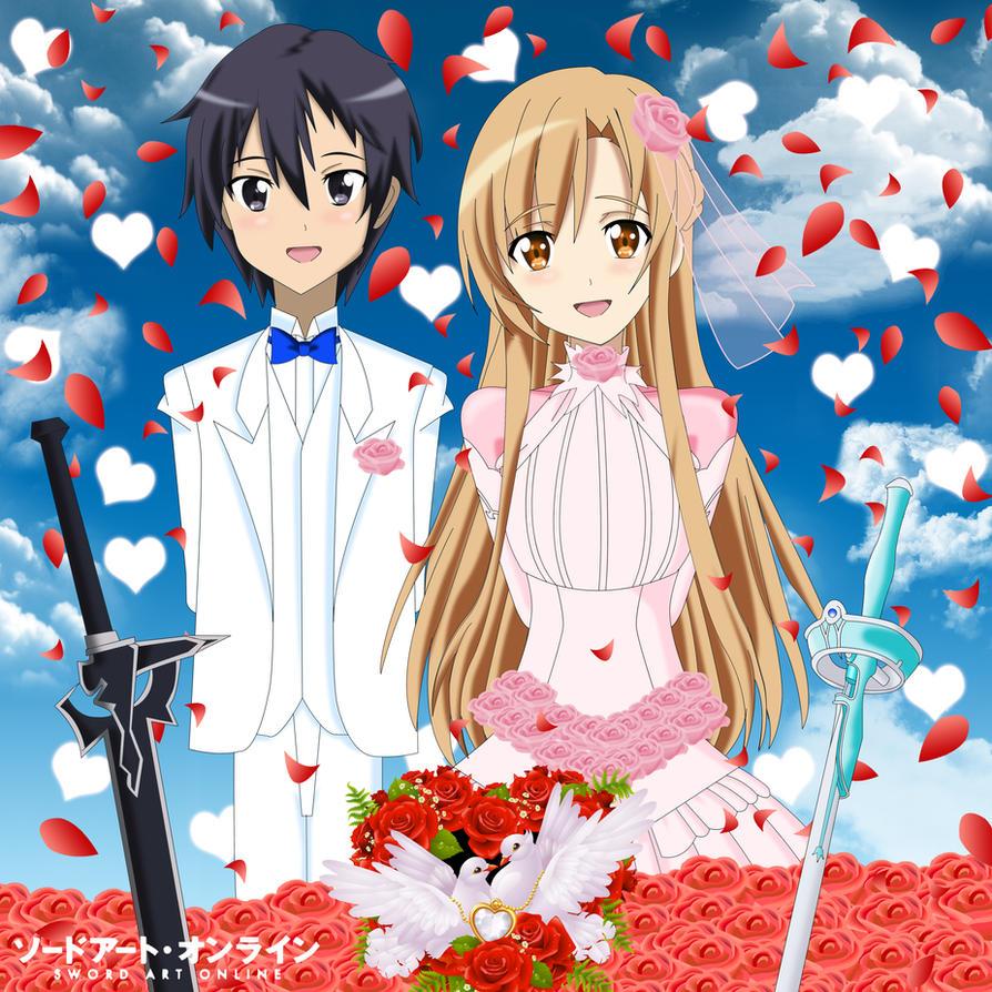 Kirito And Asuna Wedding Wwwimgkidcom The Image Kid