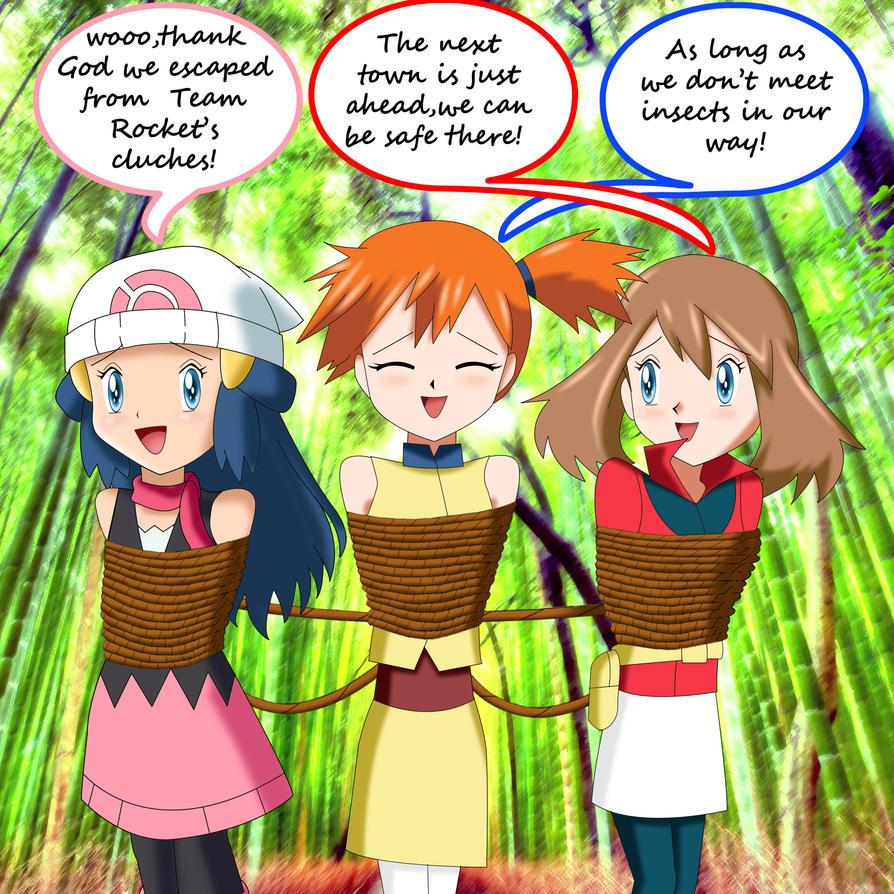 .: Pokemon Girls Escape :. by Sincity2100 on DeviantArt