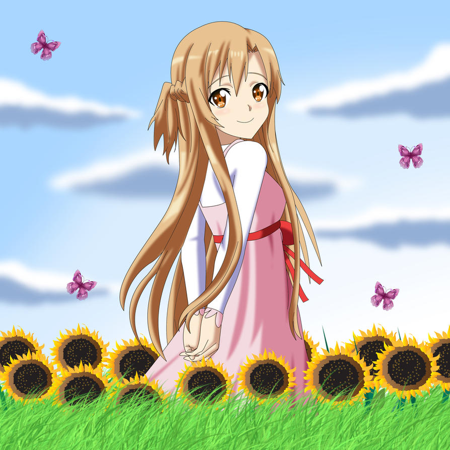 .: Contest : Asuna's Gentle Summer :. by Sincity2100