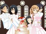 .: SAO + SNK : Wedding :.