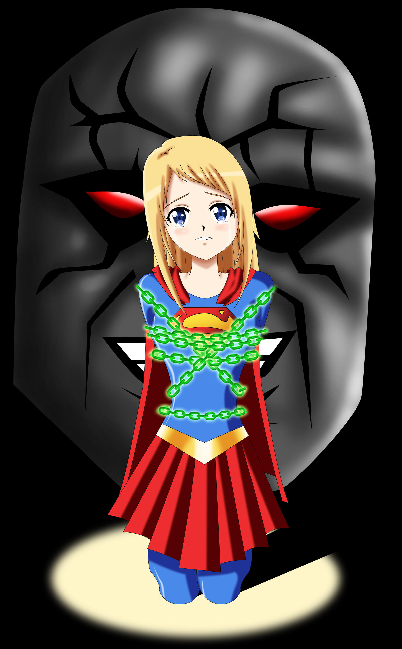 .: Supergirl in Peril :. by Sincity2100 on DeviantArt