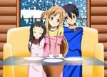 .: SAO : A happy evening at winter :.