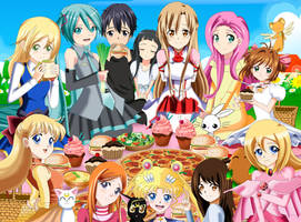 .: Let's have a happy Picnic time  :. by Sincity2100