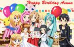 .: Happy Birthday Asuna :.