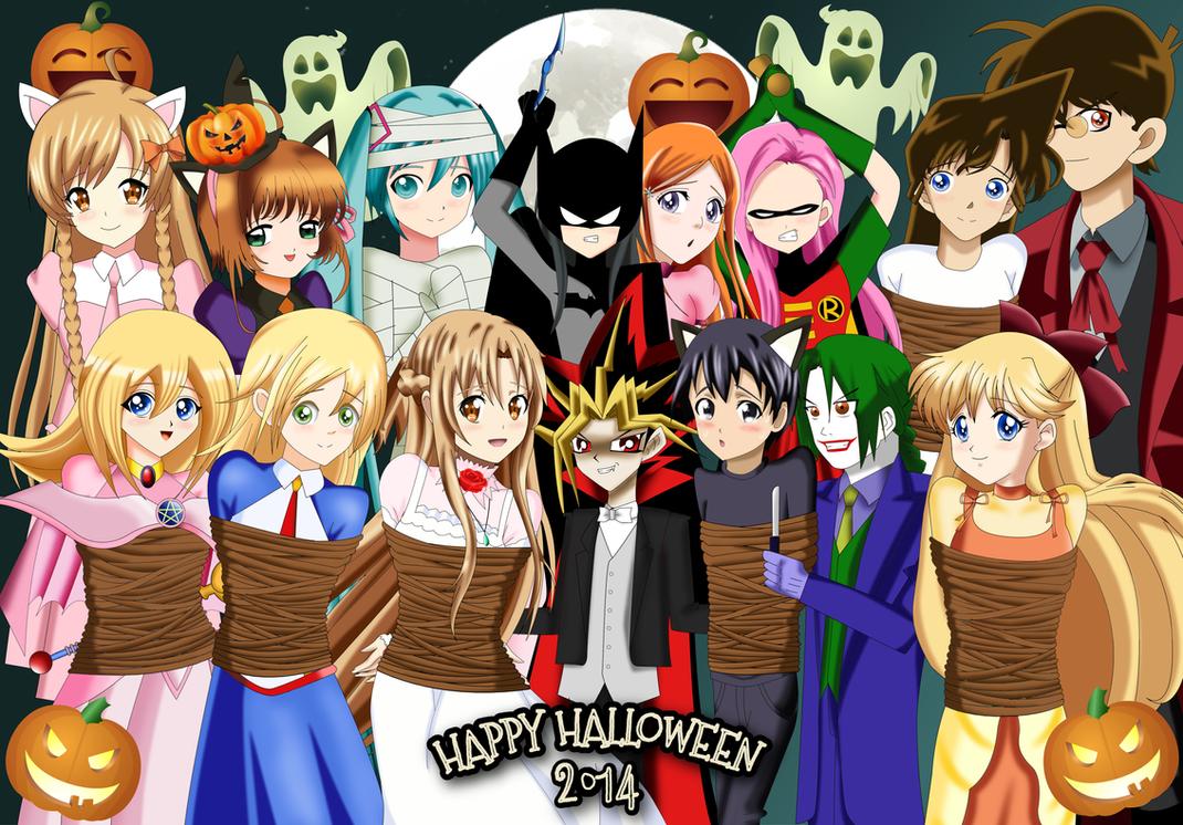 .: Happy Halloween 2014 :. by Sincity2100
