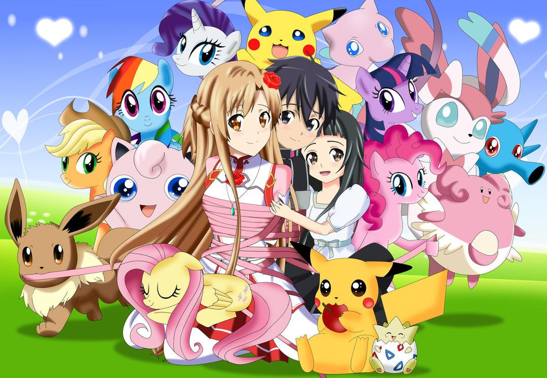 .: Pokemons Ponies and Swords II :. by Sincity2100