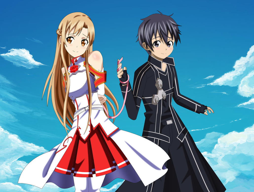 .: SAO : Pink ribbons of Fate :. by Sincity2100