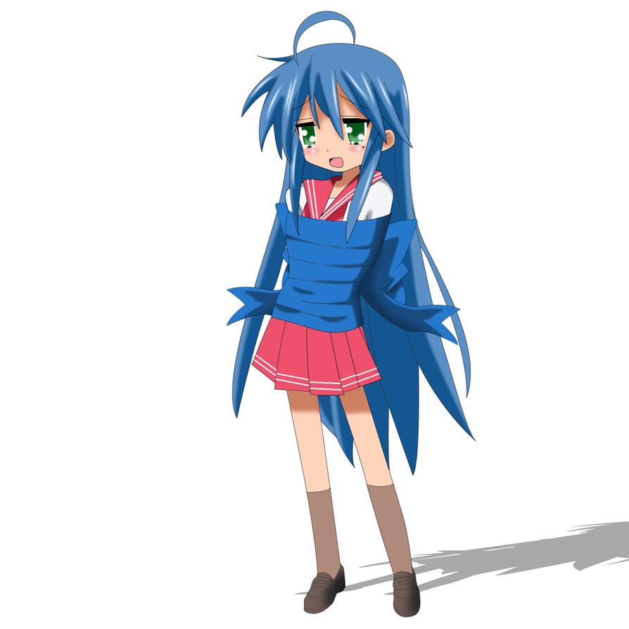 .: Com : Konata Izumi in ribbons :. by Sincity2100