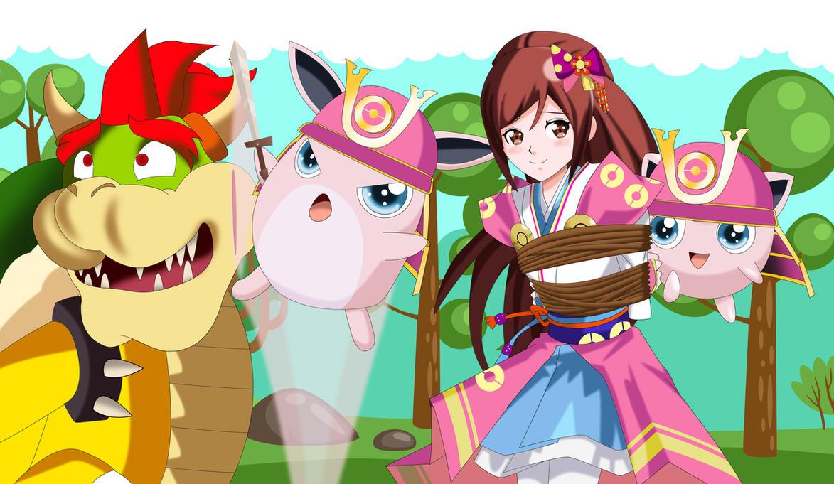 smb pokemon conquest saving oichi by sincity2100