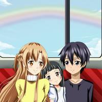 .: SAO : Train Journey :. by Sincity2100