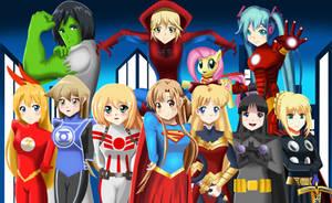 .:  Legion of Super heroines :.