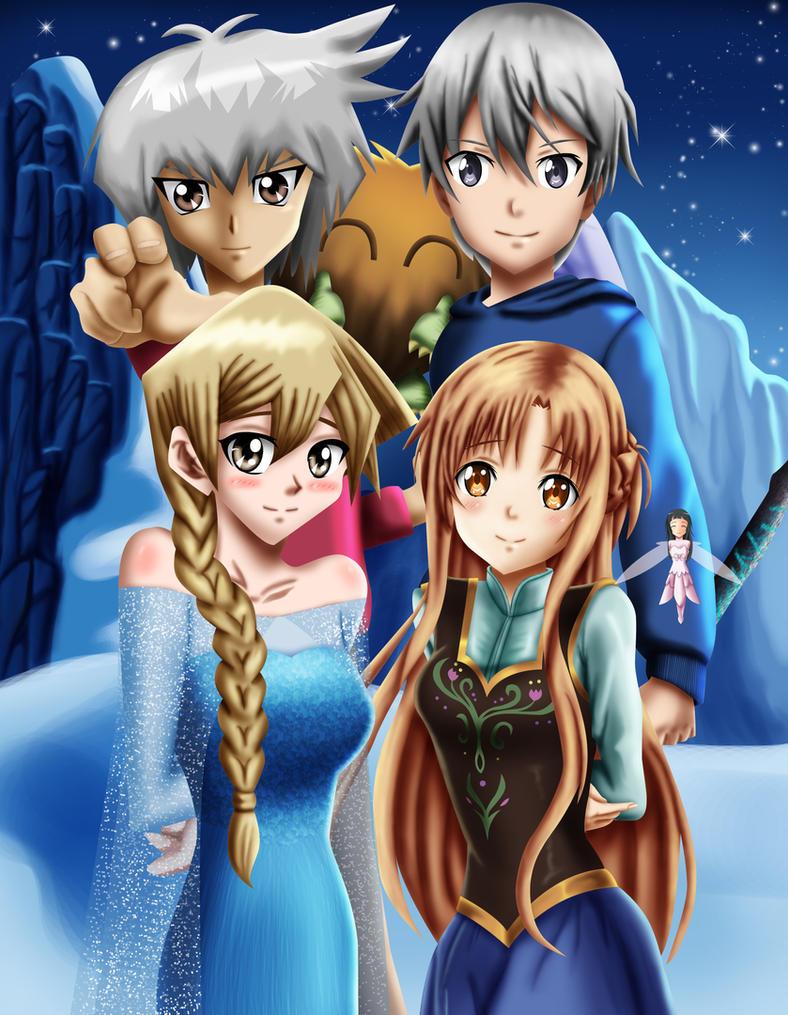 .: YGO GX! SAO : Frozen : Frost :. by Sincity2100