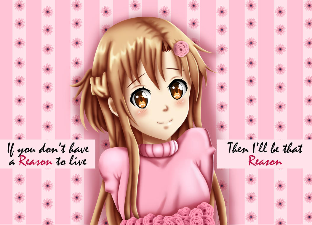 .: SAO : Asuna Quote :. by Sincity2100