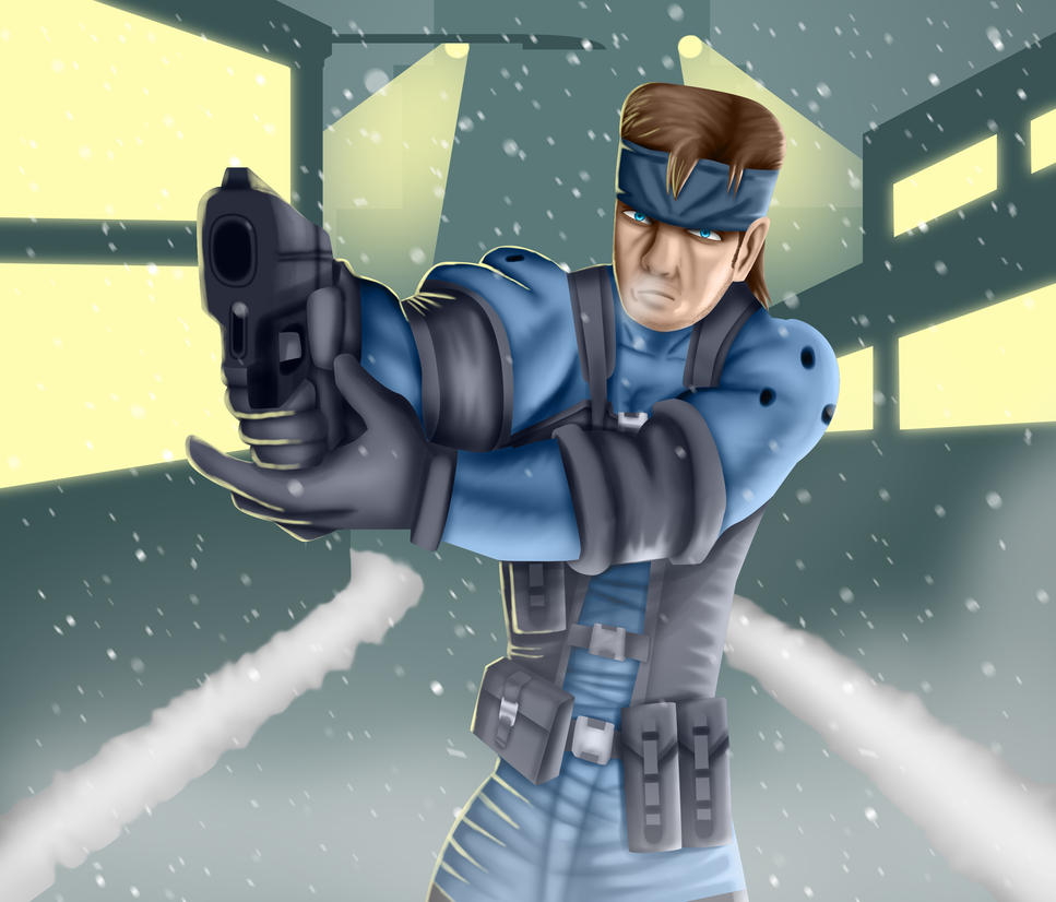 .: The Legendary Solid Snake :. by Sincity2100