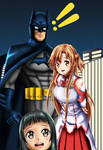 .: SAO : A Day with The Batman :. by Sincity2100