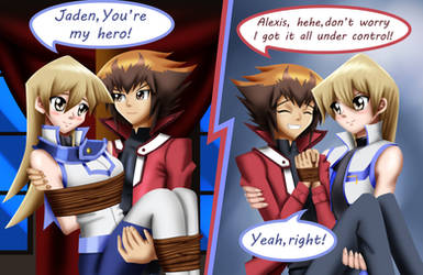 .: YGO GX FianceShipping : Rescue Scenes :.
