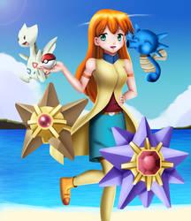.: Pokemon : Teenage Misty :. by Sincity2100