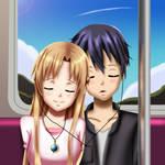 .: SAO : On the train :.