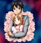.: SAO : Couple Hug :.