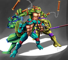 .: Turtles Forever :. by Sincity2100