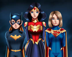 .: Female Trinity :. by Sincity2100