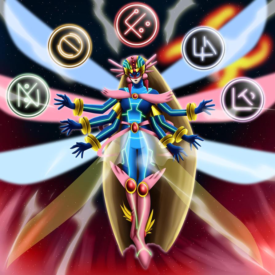 Neo Cyber Angel Prima by Sincity2100