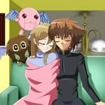 .: YGO : FianceShipping : Sleeping Together :. by Sincity2100