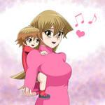 .: YGO GX : Mama Asuka :. by Sincity2100
