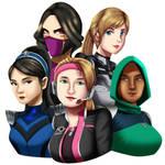 .: Mortal Kombat Ladies :. by Sincity2100